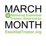 Logo for National Essential Tremor Awareness Month