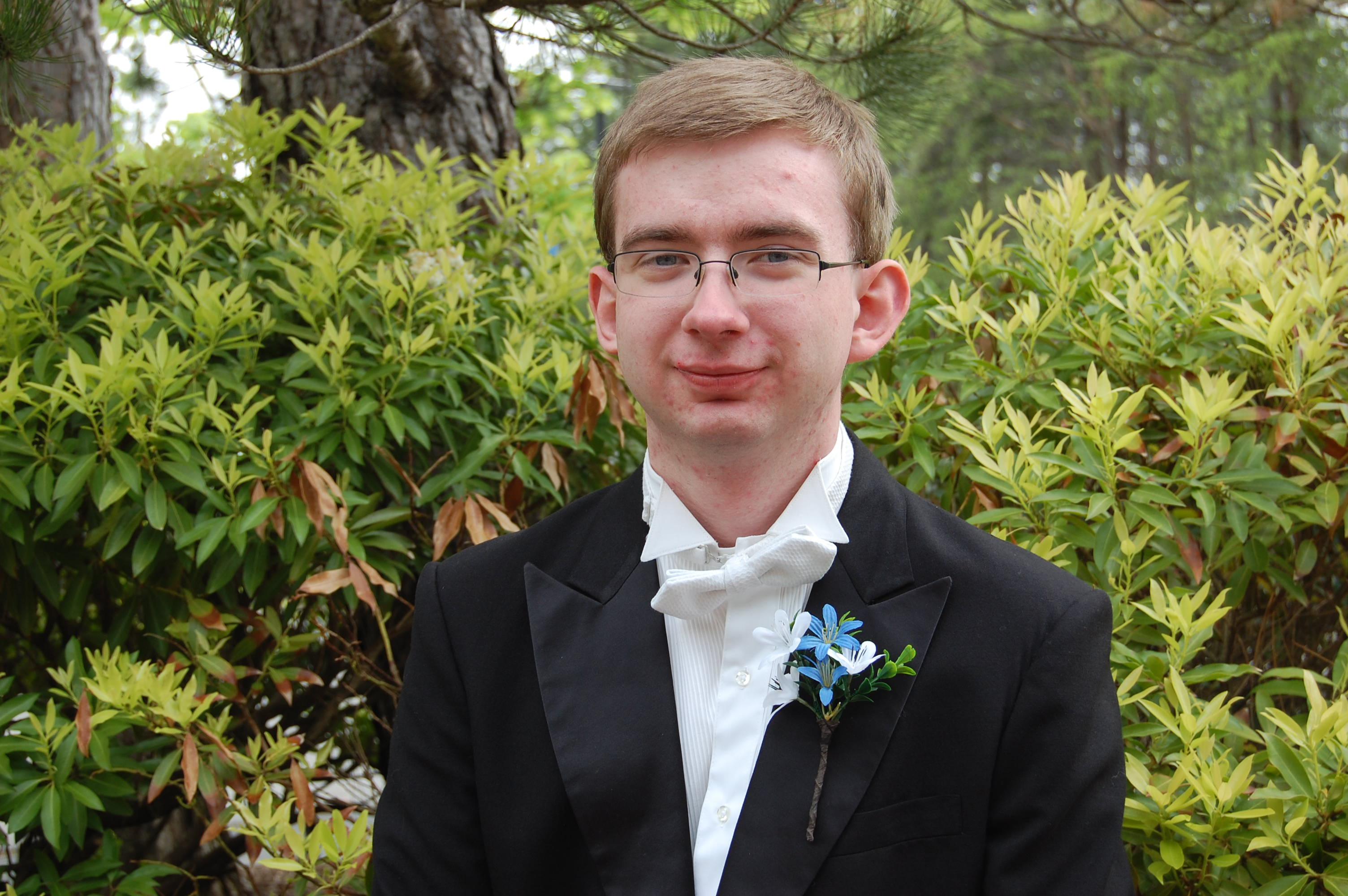 Photo of IETF Scholarship Recipient Ezra Thomas