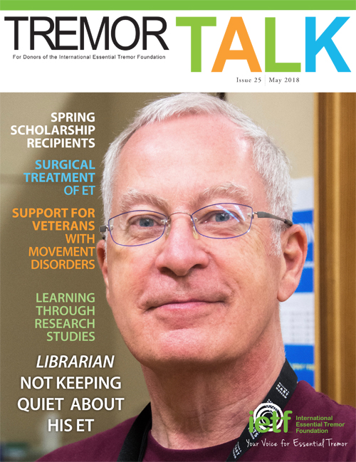 Photo of the cover of Tremor Talk magazine for May 2018